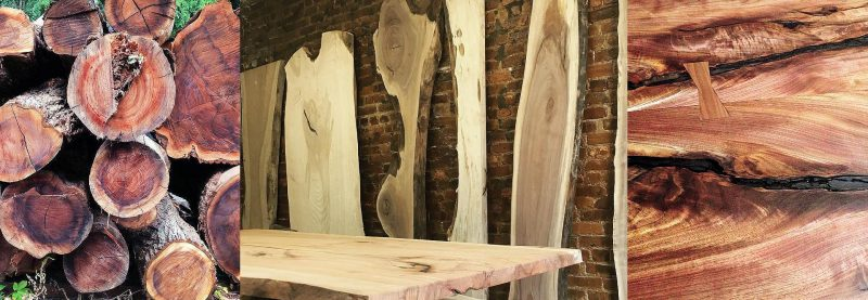 Live Edge Slabs & Tables NM